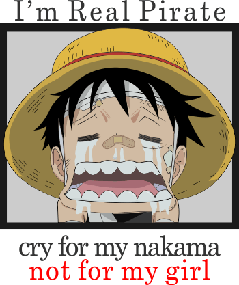desain vector luffy one piece